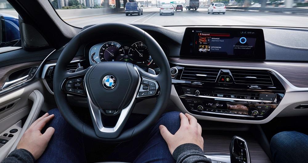 اتومبیل های خودران BMW