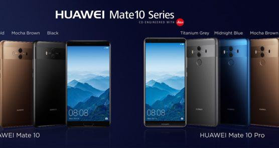 توانمندی های مشترک گوشی های سری Mate 10 در مقابل سایر پرچمداران بازار