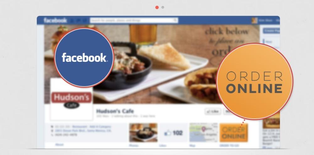 سفارش غذا در فیس بوک