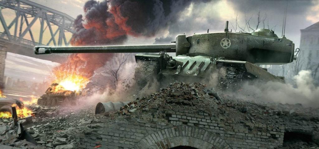 نسخه دوم بازی World Of Tanks