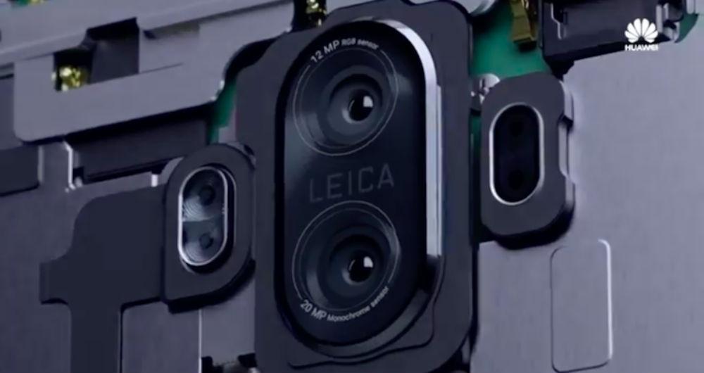 دوربین های دوگانه Mate 10 Lite
