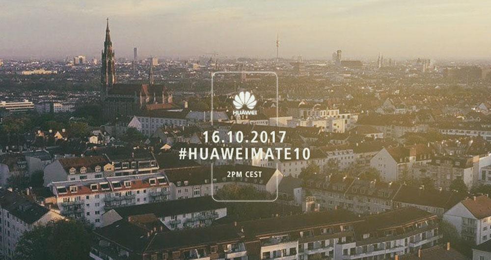 پوشش زنده مراسم سری گوشیهای هواوی Mate 10