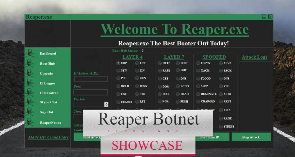 بات نت Reaper