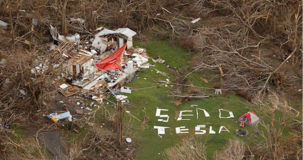 تسلا به کمک طوفانزدگان پورتوریکو میآید