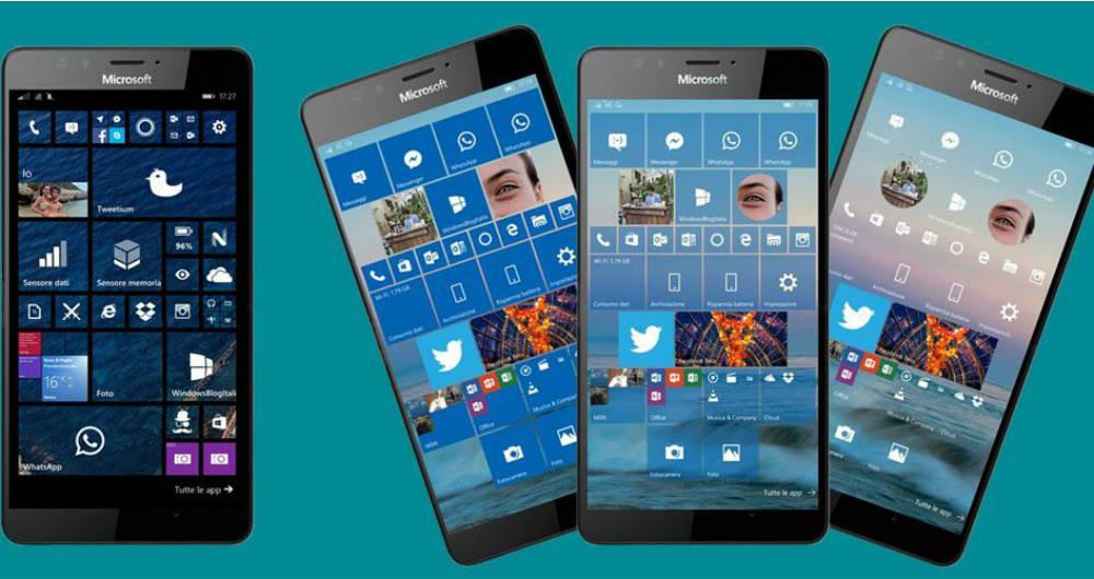 موبایل های ویندوزی