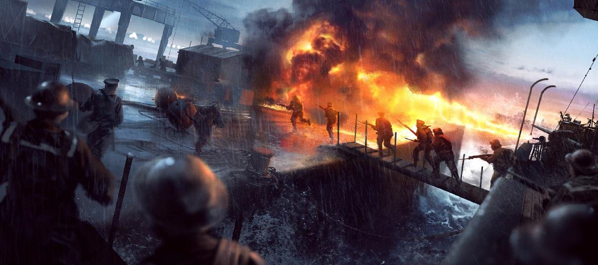 بسته الحاقی Turning Tides بازی Battlefield 1