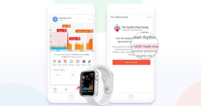 تشخیص بیماری با اپل واچ
