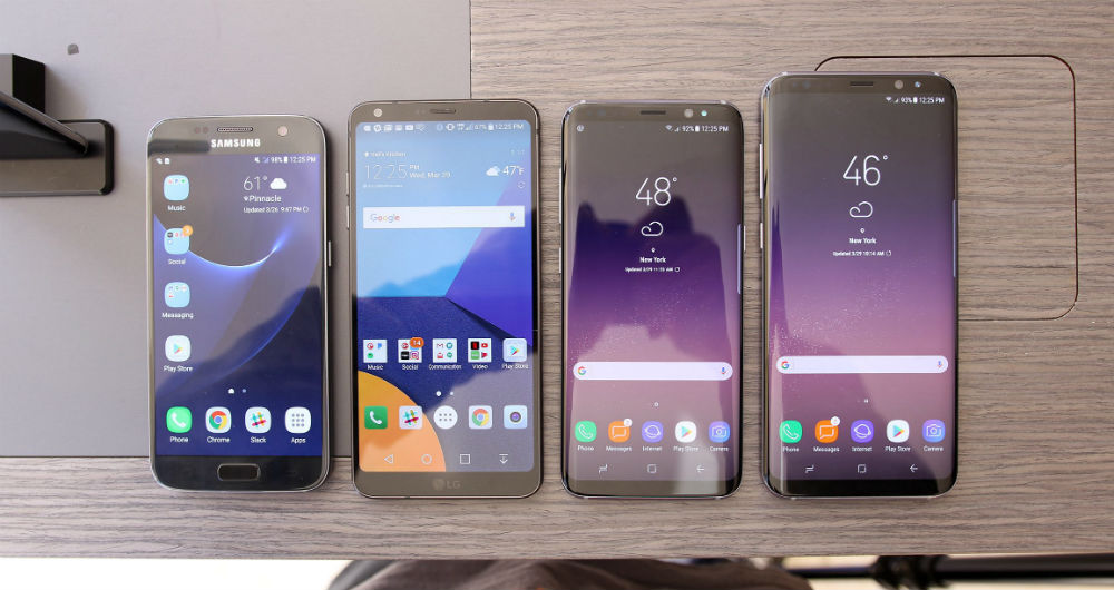 مقایسه تلفن های هوشمند
