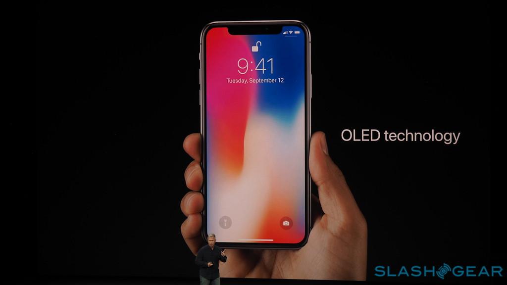 صفحه نمایش OLED آیفون X