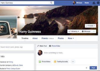 مشاهده پروفایل فیسبوک