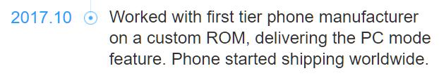 هواوی برای تبدیل گوشی Mate 10 به رایانه شخصی از سیستم عامل فونیکس استفاده کرد