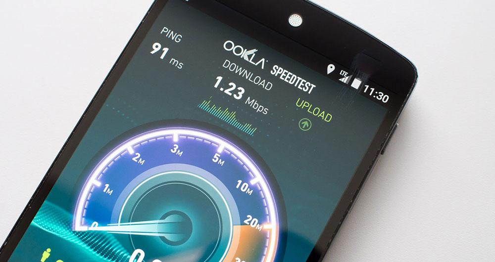 سرعت دانلود موبایل جهان