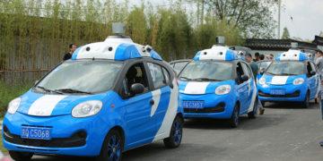 اتومبیل های خودران در چین