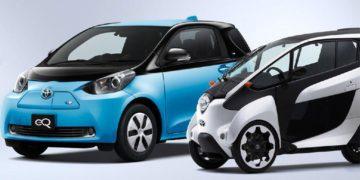 خودروهای برقی تویوتا