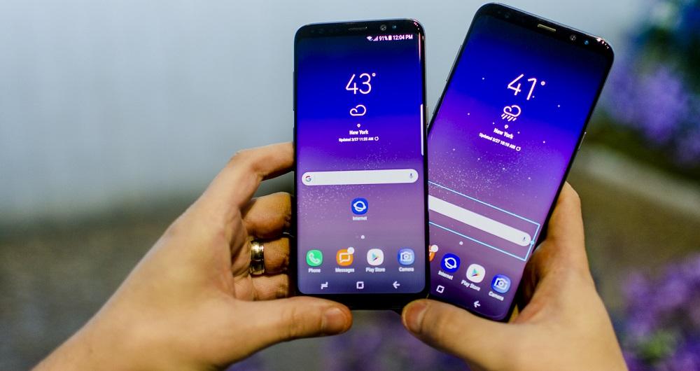 آپدیت جدید گلکسی S8 و گلکسی S8 پلاس در اختیار کاربران قرار گرفت