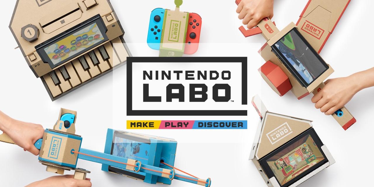 محصول Nintendo Labo