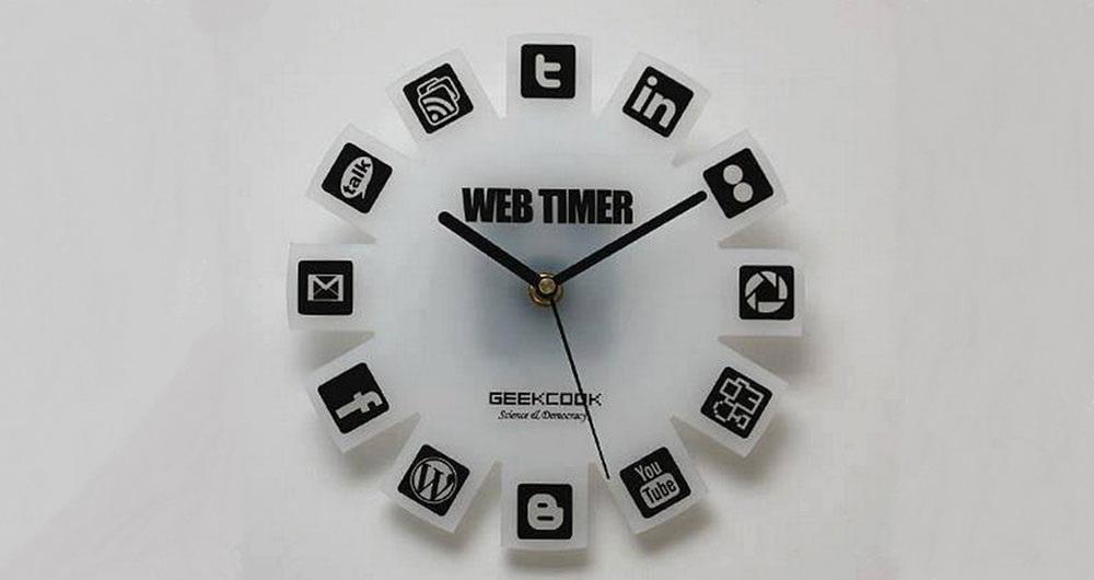 افزونه web timer کروم؛ ابزاری برای مدیریت صحیح استفاده از اینترنت
