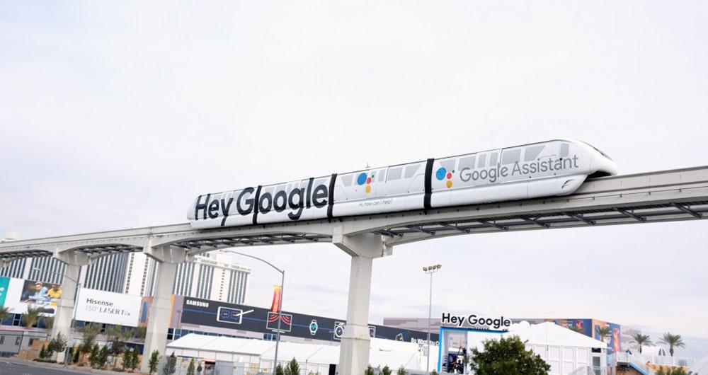 قطارهای سریع السیر Hey Google