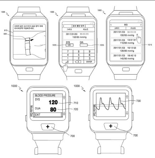 ساعت هوشمند Gear S4 سامسونگ احتمالا فشار خون را اندازه می گیرد!