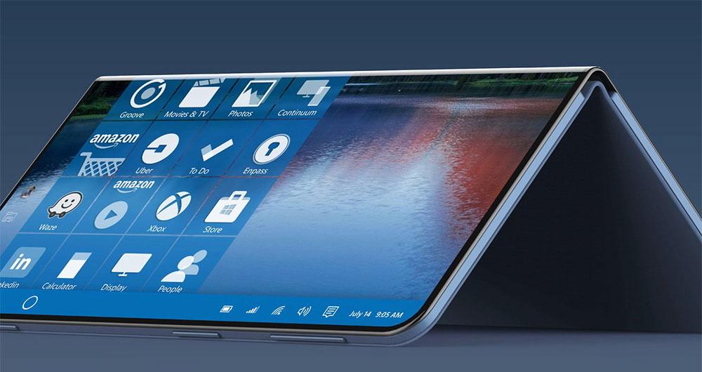 ثبت پتنت «لولای زنده» مایکروسافت که احتمالا در طراحی گوشی سرفیس فون استفاده شود