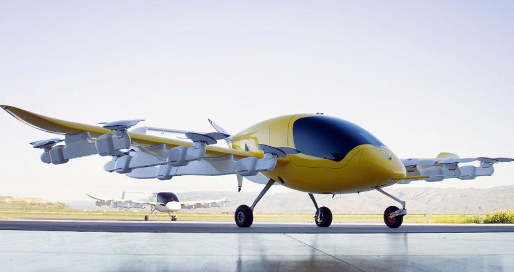 تاکسی هوایی لری پیج