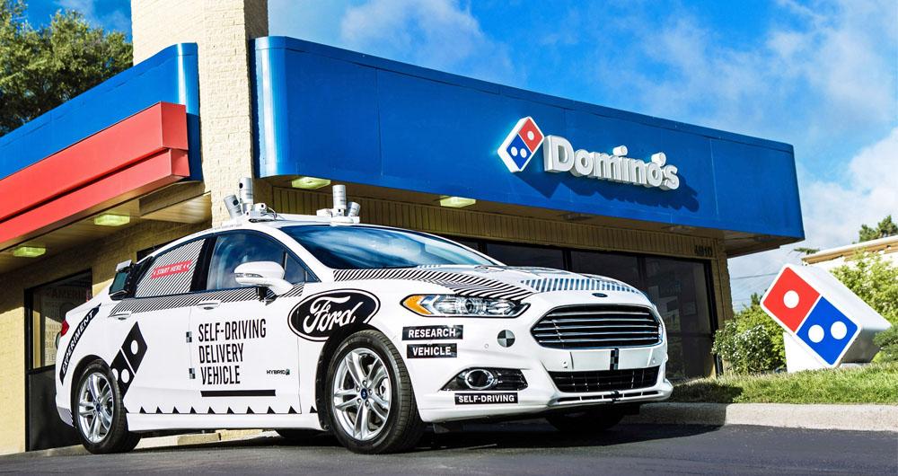 ماشین های خودران Ford