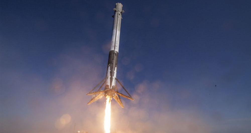 پنجاهمین راکت Falcon 9