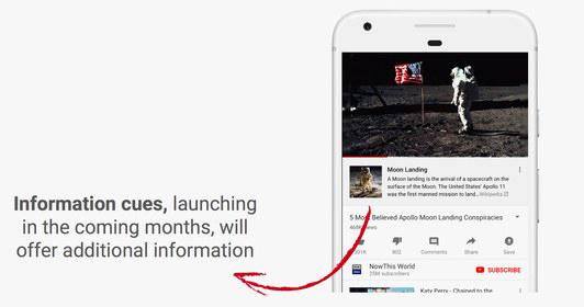یوتیوب با استفاده از ویکی پدیا جلوی انتشار اطلاعات جعلی را می گیرد