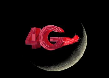 شبکه اینترنت 4G در کره ماه