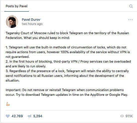 شبکه تلگرام