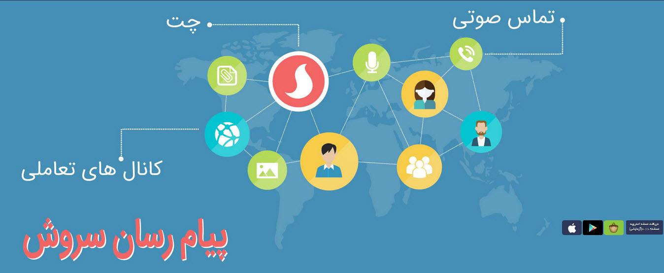 شبکه پیام رسان داخلی