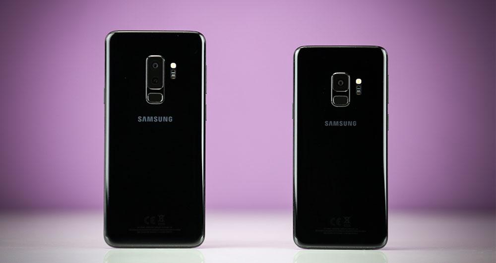 جعبه گشایی گوشی های Galaxy S9 و S9+