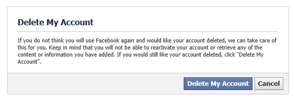 چگونه اکانت فیس بوک خود را به صورت دائمی حذف کنیم؟