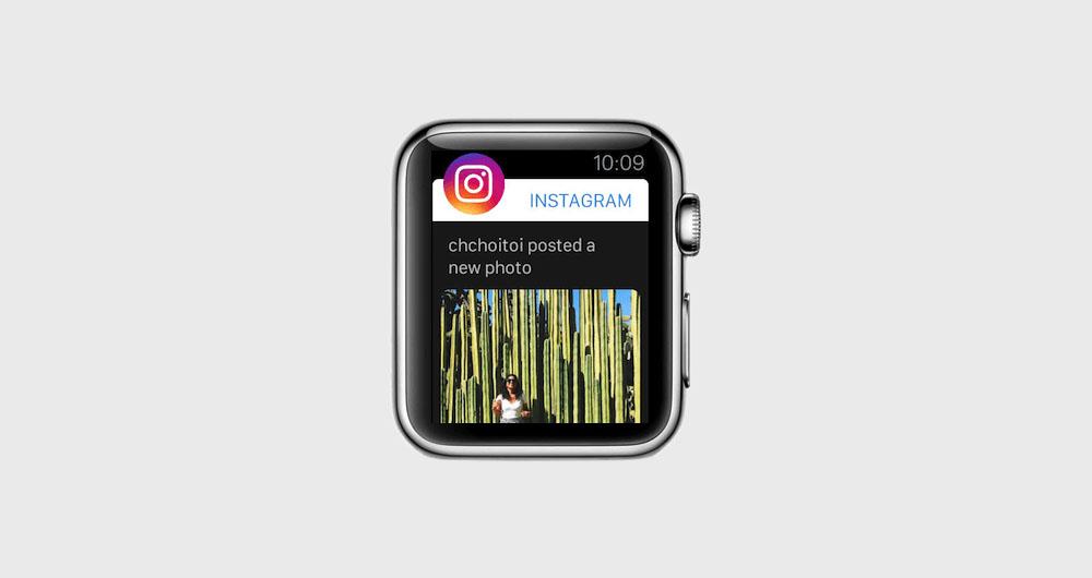 اپلیکیشن اینستاگرام اپل واچ