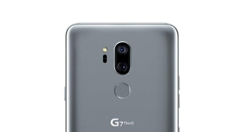 دوربین دوگانه ال جی G7 ThinQ