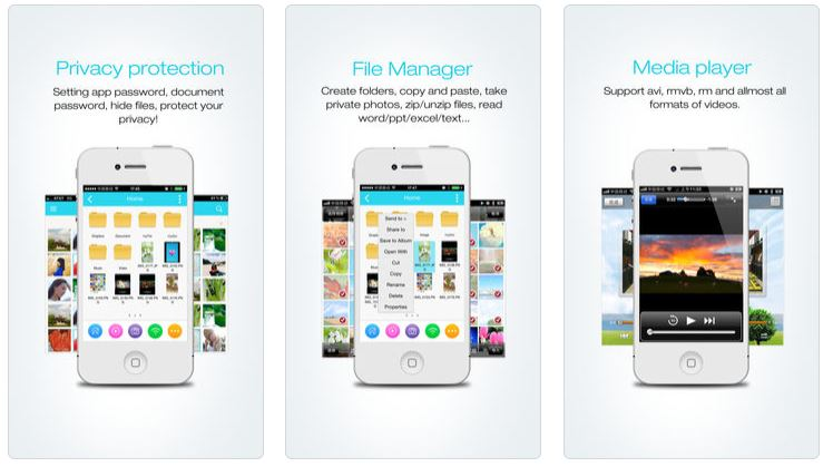فایل منیجر برای iOS