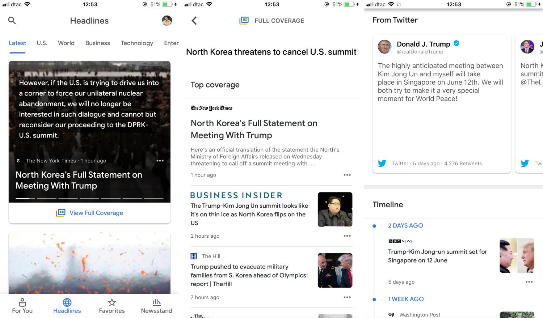 اپلیکیشن Google News