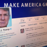 صفحه توییتر رئیس جمهور آمریکا با کاهش 300 هزارتایی فالوئر روبرو شد!