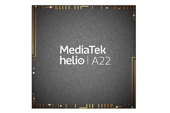 پردازنده مدیاتک هلیو A22 مجهز به چهار هسته 12 نانومتری معرفی شد