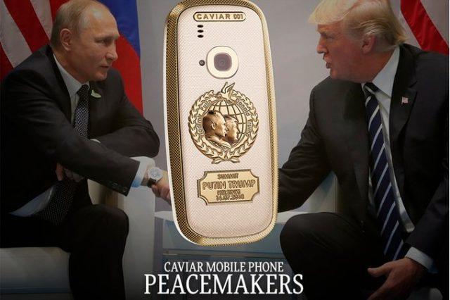 گوشی نوکیا 3310 نسخه PeaceMakers برای یادبود ملاقات ترامپ و پوتین عرضه می شود
