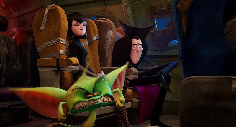 انیمیشن هتل ترانسیلوانیا 3 فیلم دواین جانسون را در باکس آفیس شکست داد!