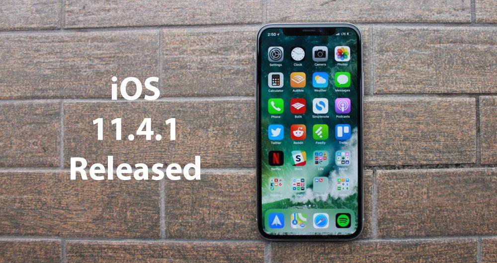 نسخه عمومی iOS 11.4.1