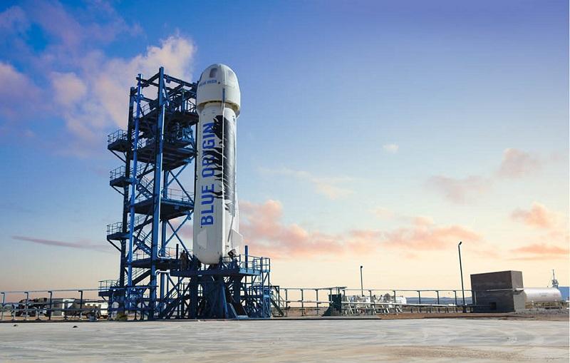 تجربه حضور چند دقیقه ای در فضا با پرداخت 300 هزار دلار به شرکت بلو اوریجین