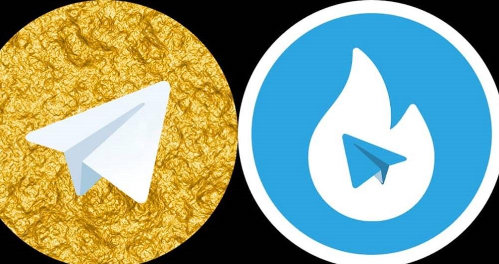هات گرام و تلگرام طلایی