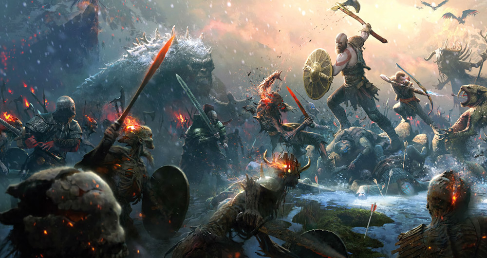 درآمد بازی God of War