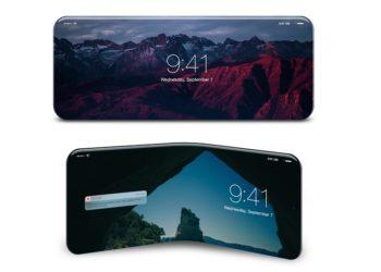 گوشی انعطاف پذیر اپل