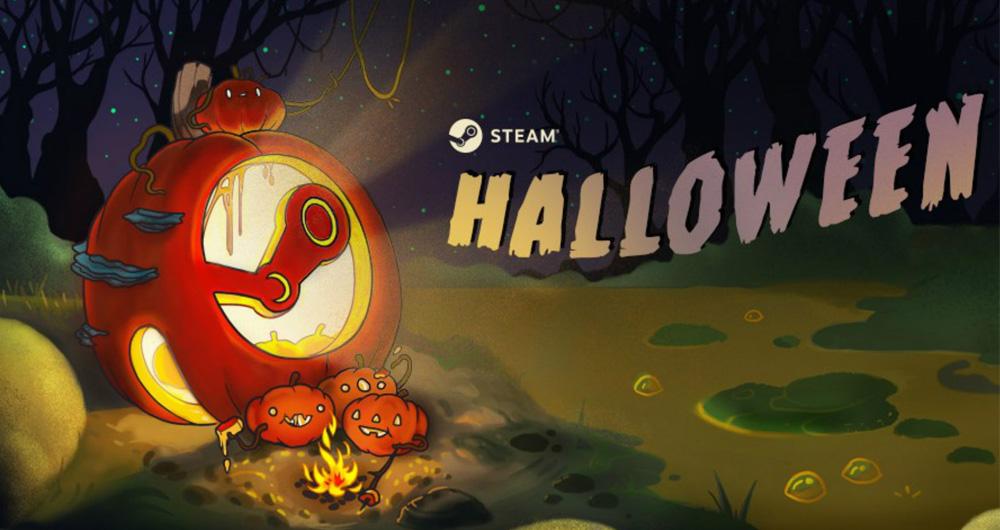 تخفیف های هالووین فروشگاه استیم