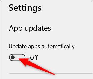 غیر فعال کردن آپدیت خودکار برنامه ها در ویندوز 10