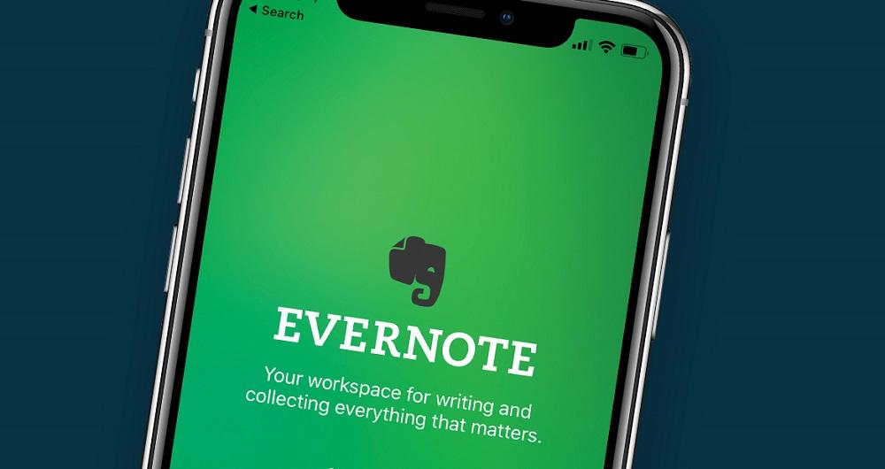 بروزرسانی اپلیکیشن Evernote