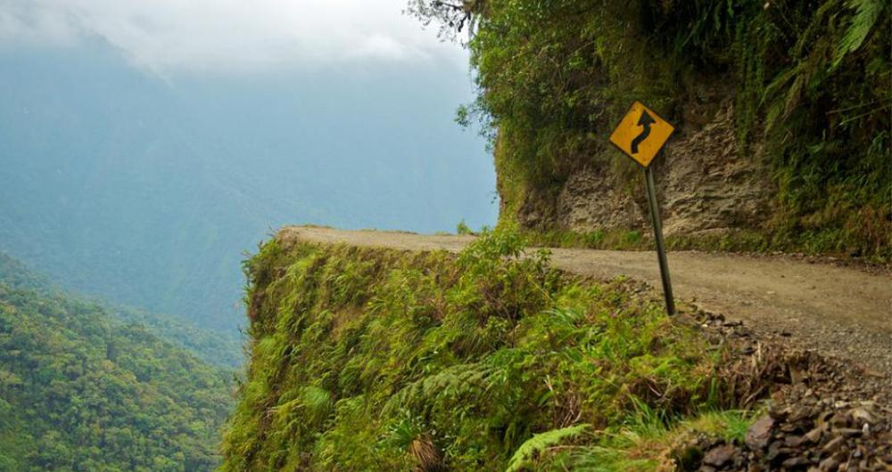 خطرناک ترین جاده ها